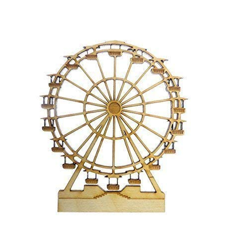 Ferris Wheel Ornament - Ferris Wheel Gift - Ferris Wheel Decor (Ferris Decoration Wheel)