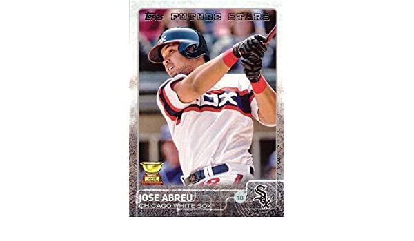 2015 Topps 176 Jose Abreu Baseball Card Future Stars At