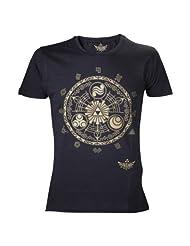 Nintendo Legend of Zelda Classic T-Shirt (M, Black)