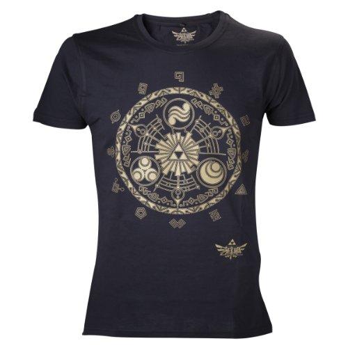 Nintendo Legend Zelda Classic T Shirt Black