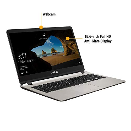 ASUS VivoBook X507UF-EJ300T Intel Core i5 8th Gen 15.6-inch FHD Thin and Light Laptop (8GB RAM/1TB HDD/Windows 10/2GB NVIDIA GeForce MX130 Graphics/FP Reader/1.68 kg), Icicle Gold