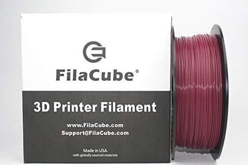 - Maroon FilaCube 1.75mm PLA 2 (PLA 2nd Generation) 3D Printer Filaments PMS 7421C 7421 C AggieMaroon Aggie tamu 1kg [Made in USA]