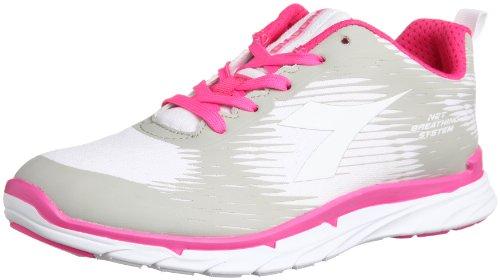 Diadora , Damen Sneaker fluo/white