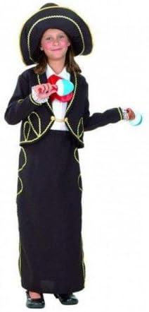 DISFRACES GILMAR Disfraz Mariachi niña - 4-6 años: Amazon.es: Hogar