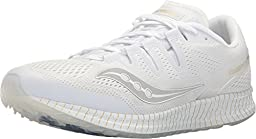 Freedom ISO Mens in White/Gold by Saucony, 10.5