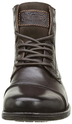 Up 5 UK 10 Levi's Brown Emerson Lace Boots pxwwHUaq