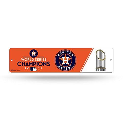 Houston Astros Sign - Rico Tag Express Houston Astros 2017 World Series Plastic Street Sign