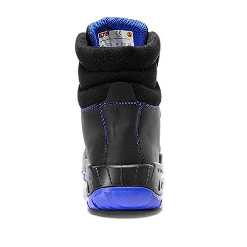 Schitterde Alessio Blauw Mid Esd S3 767.541 Unisex-adult Beschermende Laarzen, Veiligheidsschoen, Veiligheidsschoenen, Veiligheidsschoenen En Iso 20345 S3 Src, Vormen Een Zwart / Blauw