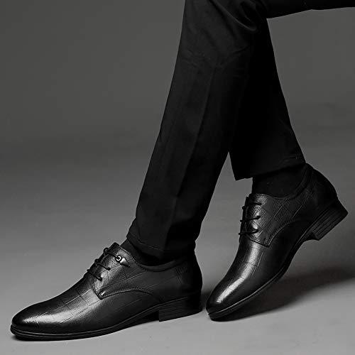 Sera Comfort Pelle Da Scarpe Black Nero Impermeabile Affari Da E In Party Autunno Pelle Scarpe Oxfords Formali Uomo In Primavera IqSw8