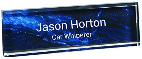 Nameplates Desk Marble (Personalized Office Desk Name Plate - Over 30 Different Design (Large - 9.5