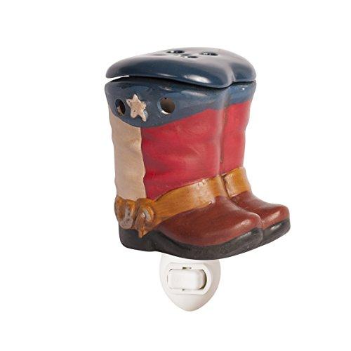 ScentSationals Electric Wax Warmer - Cowboy Boots (Texas, Accent)