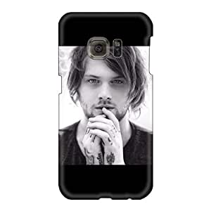 Scratch Resistant Cell-phone Hard Covers For Samsung Galaxy S6 With Allow Personal Design High-definition Asking Alexandria Band Pictures MansourMurray