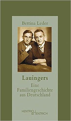 Bettina Leder: Lauingers; Gay-Literatur alphabetisch nach Titeln