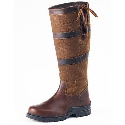 OV Rhona Wide Country Boot - (Brown, W39) by OVATION