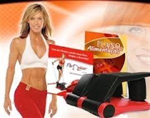 Online Gym Shops SL005 Air Climber with Valve, Cord, DVD, Timer