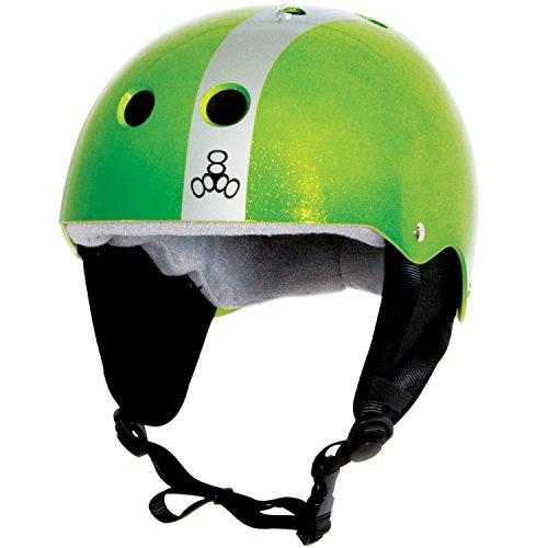 Liquid Force 2017 Flash (Green/Silver) Wakeboard Helmet