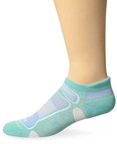 Balega Ultralight No Show Athletic Running Socks for Men and Women (1-Pair), Aqua, Medium