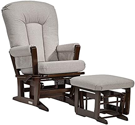 Dutailier Modern 0384 Glider Multiposition Lock Recline With Ottoman Included Amazon Sg Baby
