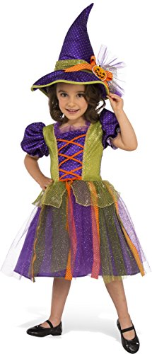 Rubie's Costume Child's Pumpkin Witch Costume, Small, Multicolor -