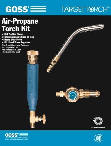 Goss Air - Goss KLP-4L Air Propane Soldering-Heating Kit LP Regulator with GT-4L Igniter Tip
