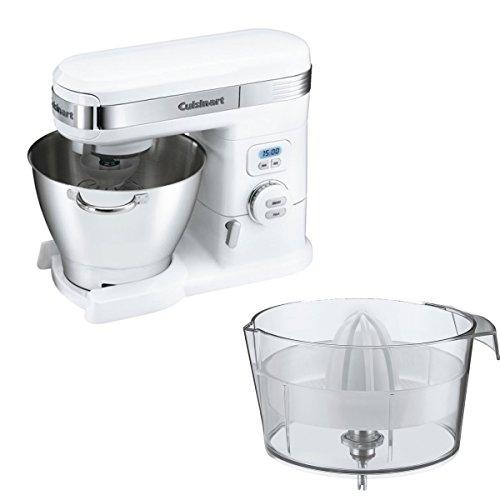 Slow Juicer Cuisinart : Cuisinart Stand Mixer and Citrus Juicer Attachment Bundle: Cuisinart Stand Mixer 5.5Qt 800W ...