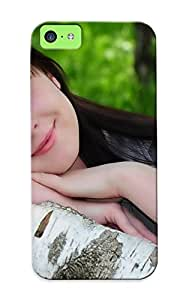 Fbtaqr-1283-wvhigwa Exultantor Green Eyed Girl Feeling Iphone 5c On Your Style Birthday Gift Cover Case