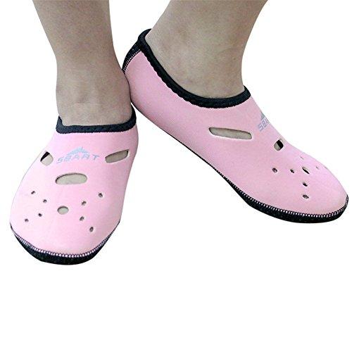 Juleya Water Socks Barefoot Skin Shoes Beach Surf Diving Home Slipper Pool Swimming Yoga Shoes For Men Women 9# kb5EwBVrf9