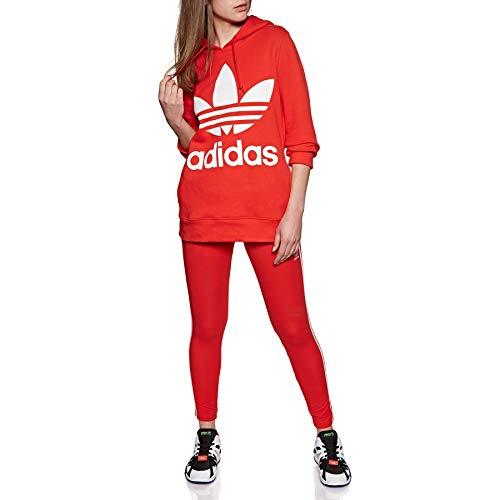 adidas Originals 3 Stripes Tight Leggings UK 12 Reg Active Red by adidas Originals (Image #1)