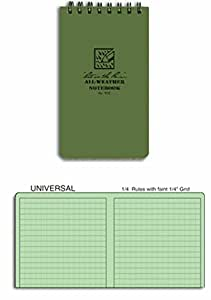 Pocket Notebook, Universal, 3 x 5In. (1, A)