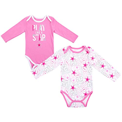 Dallas Cowboys Girls Sleeve Onesie product image