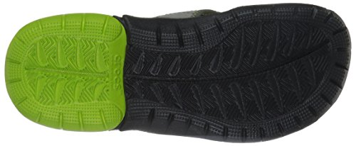 crocs Herren Swiftwaterflipm Pantoffeln Grau (Graphite/Volt Green)