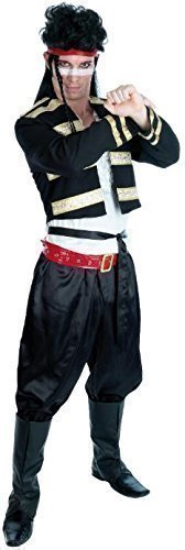... 5 Piece Mens 1980s 80s Adam Ant New Romantics Celebrity Fancy Dress Outfit. Standard or  sc 1 st  Simply Eighties & 80s Costumes for Men at SimplyEighties.com