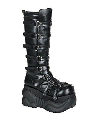 Gothic Platform Boot Unisex High Knee 8daqPn4z