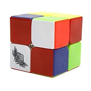 HJXD Cyclone Boys Magic Cube Set 4 Pack 2x2x2 3x3x3 4x4x4 5x5x5 Stickerless Speed Cube True Color