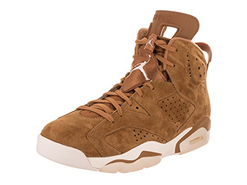 Jordan Retro 6 Men's Golden Harvest Wheat Basketball Shoe (10 D(M) US) by Jordan