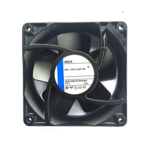 4650N 230V 19W AC 12038 temperature cooling fan all metalrter server industrial fan (4650N)