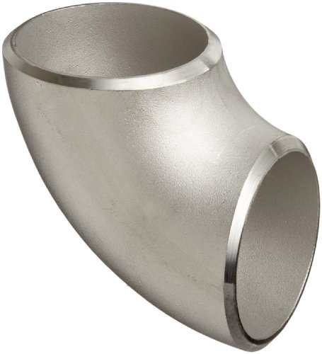 Stainless Steel 304/304L Butt-Weld Pipe Fitting, Short Radius 90 Degree Elbow, Schedule 40, 3