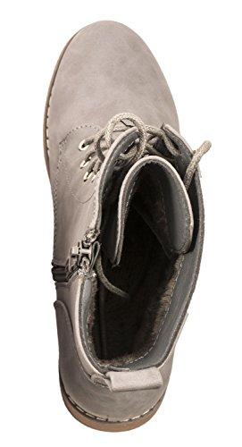 Elara - biker_boots Mujer gris