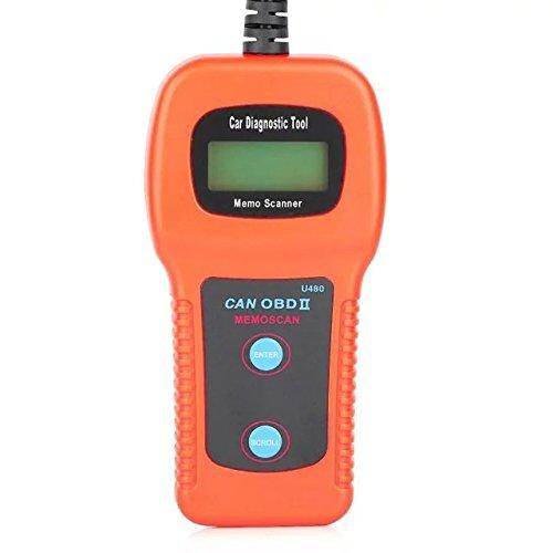 Daoming U480 EOBD OBDII OBD2 coche herramienta de diagnóstico lector de código del motor con pantalla LCD para EOBD vehículos - naranja: Amazon.es: Coche y ...