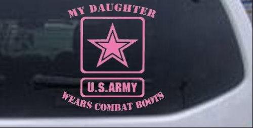 Daughter Combat Military Window Sticker