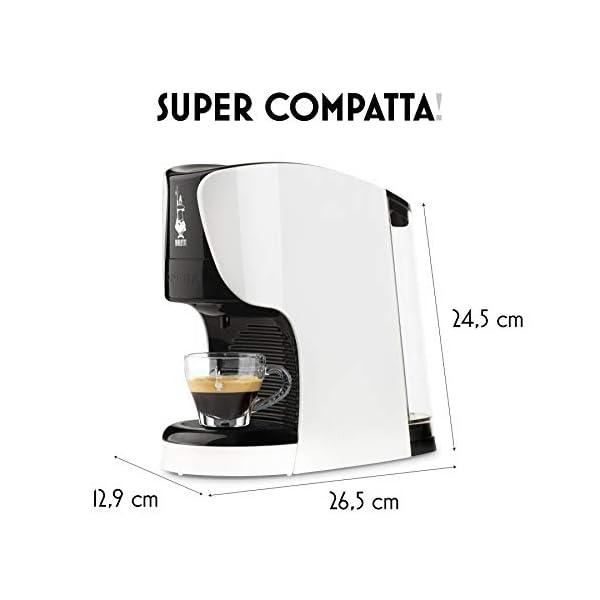 Bialetti Opera Macchina da Caffè Espresso per Capsule in Alluminio sistema Bialetti il Caffè d'Italia, Bianca 5