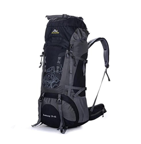 Para Mochilas Viajes Capacidad Viaje Black Laptop De Camping Grande 75l Libre Bolsas Aire Mochila Al Alpinismo AqA4d