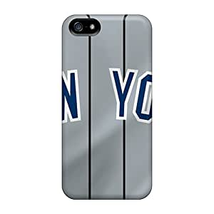 Tpu Case For Iphone 5/5s With New York Yankees