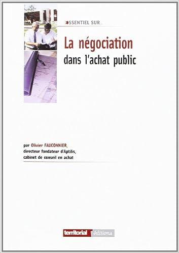 Livre gratuits La négociation dans l'achat public pdf