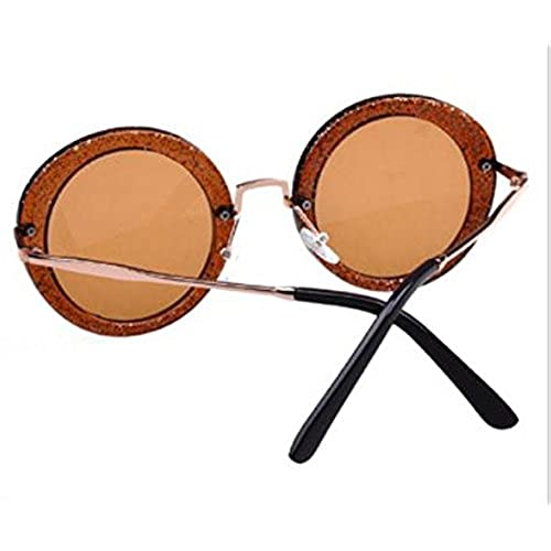 215bb6e004e8 80%OFF Qingsun 2016 Unisex Vintage Small Round Cycling Circle Frame Eyewear  Sunglasses for Women