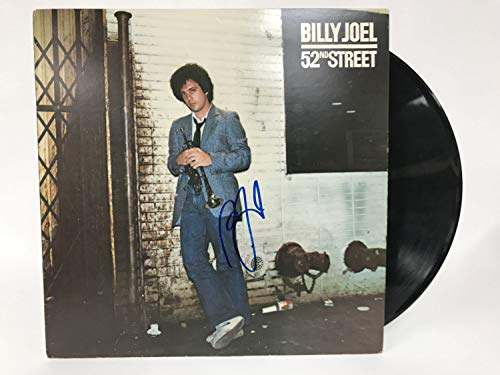 Billy Joel Signed Autographed '52nd Street' Record Album - COA Matching Holograms