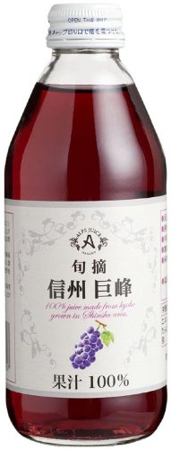 250mlX24 this Alps Shinshu grape not from-concentrate juice