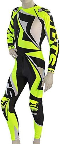 Mots mt2908ly rider3/Trial Mono Giallo Fluo Taglia L