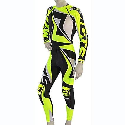 Mots MT2908XLY Rider3 Trial Mono, Amarillo Fluo, Talla XL ...