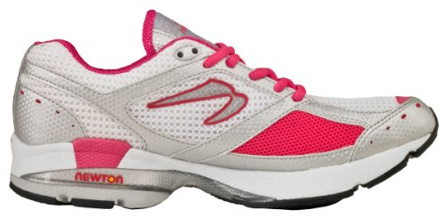 Newton Sir Isaac S Stability Guidance Trainer Running Shoe - Mens White/silver/red 9 D(M) (Newton Isaac S)